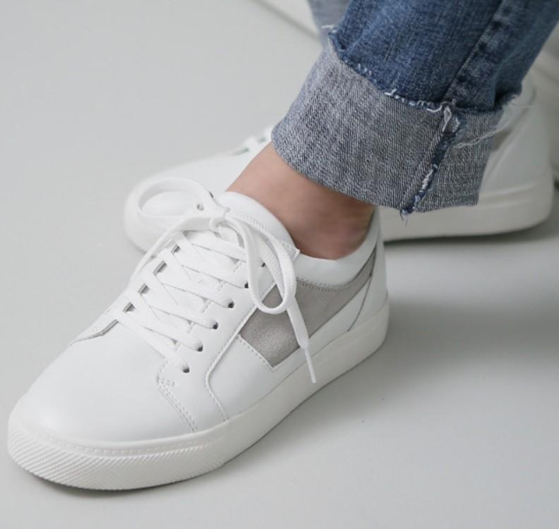 2019新品韩国直邮正品牌子男进口白色休闲鞋男春夏季内增高鞋子