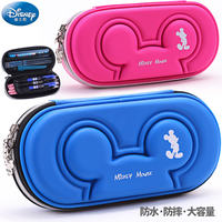 Disney multi-function pen box boys and girls stationery box pupil pencil case anti-collision pressure large capacity pencil case
