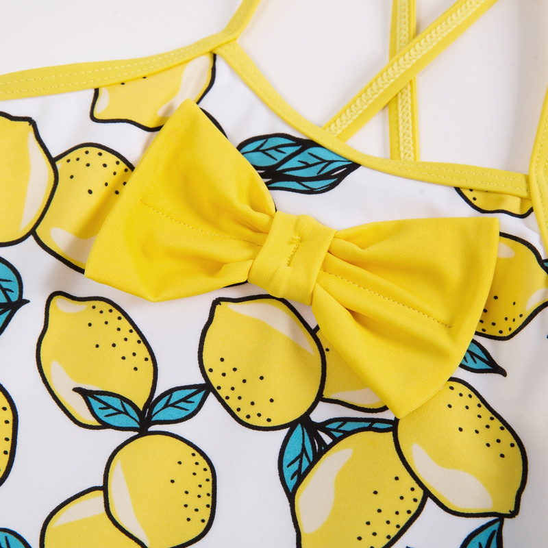 巴拉巴拉女幼童连体泳衣2018夏装新款公主式套装泳帽宝宝泳装儿童