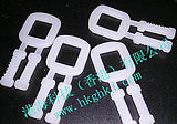 Plastic packaging buckle, plastic packaging buckle, with tooth packing buckle, thick white packaging buckle, milk white packaging buckle