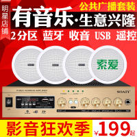 Sony Ericsson SA1000 Ceiling Speaker Set Ceiling Sound Stereo Amplifier Background Music Radio Speaker