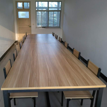 会议桌办公桌简约现代培训职员老板办公家具长桌电脑大桌子可拆卸