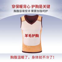 Zibo men's warm vest plus velvet thick tight-fitting Slim vest wide shoulder V-neck sleeveless cotton vest shoulder winter