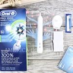 OralB/欧乐B电动牙刷P1000成人充电式深层清洁原装进口美国直邮