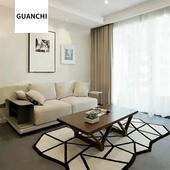 冠驰 北欧地毯客厅茶几沙发地毯简约现代几何地毯地垫 GUANCHI