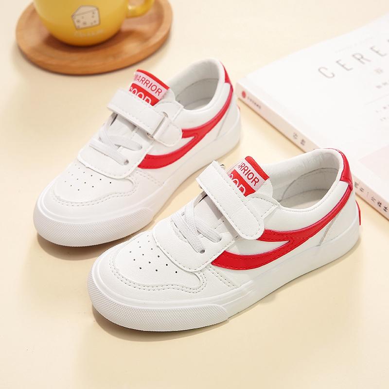 18春季回力童鞋新款儿童帆布鞋超纤男女童休闲鞋魔术贴韩版低帮潮