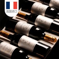瓶12干红葡萄酒整箱共AOC法国波尔多原瓶进口红酒买一箱送一箱