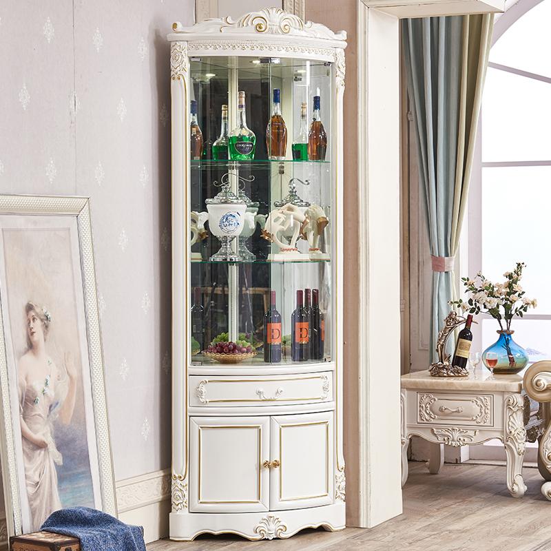 三角玻璃酒柜