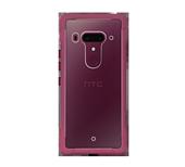限量促销HTC U12+官网手机空压壳双料防震套商务软?#37096;?#40657;蓝酒红色