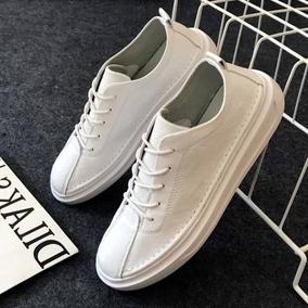 文艺小白鞋男春季2018新款韩版百搭夏季透气白色鞋子男士休闲板鞋
