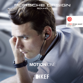 KEF PORSCHE DESIGN MOTION ONE保时捷设计无线蓝牙HiFi入耳耳机