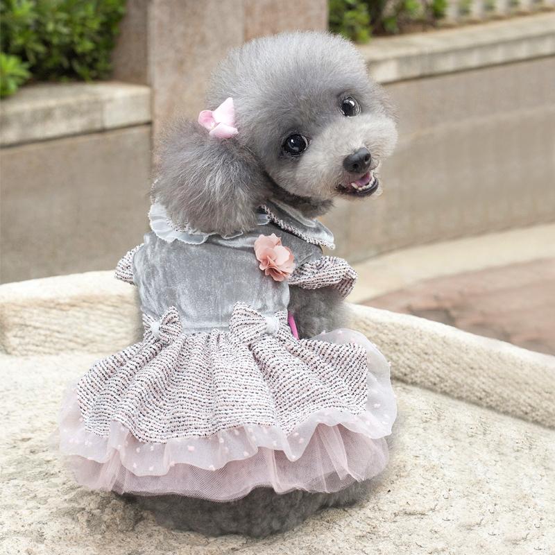 狗狗棉衣裙