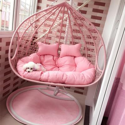 鸟笼支架仿藤吊椅网红成人双人椅子简易省空间北欧神器秋少女