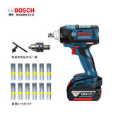 Bosch lithium battery impact wrench GDS18V-EC300ABR high torque rechargeable brushless power tool