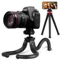 Futubao Octopus Tripod SLR Camera Stand Handheld Mini Tripod Eight Catch Fish Phone Holder Selfie Frame Octopus Portable Small Micro Single Photography Desktop Shooting Universal Photo Shelf