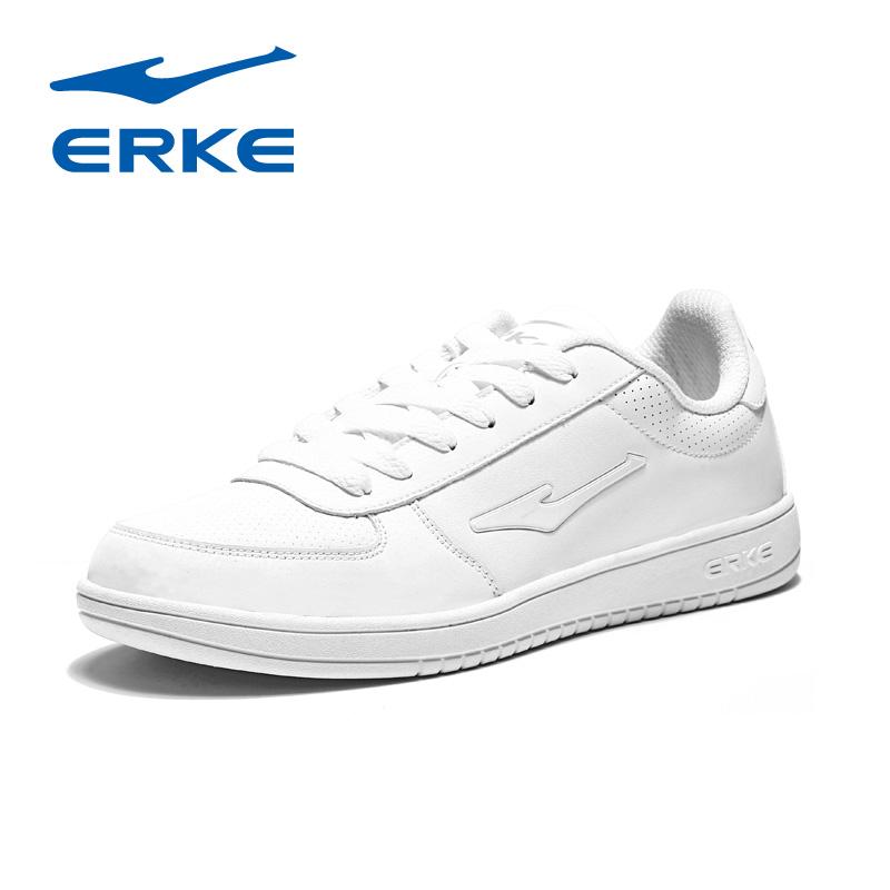 鸿星尔克男鞋休闲鞋子2018秋季新款正品红星尔克板鞋低帮运动鞋男