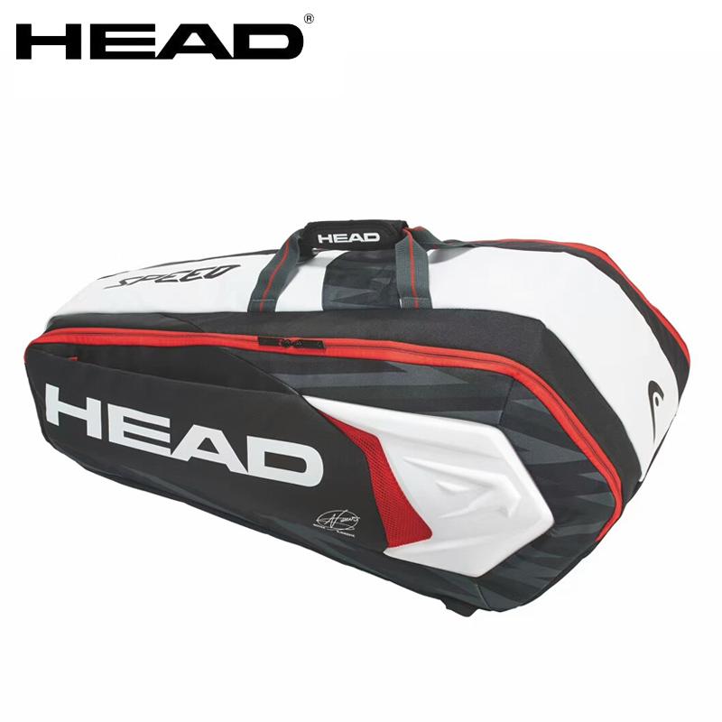 HEAD/海德 德约科维奇6-9只装网球包 男子2018双肩网球包