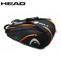HEAD Hyde 6-9 Pack Tennis Bag Single/Double Shoulder Hard Case Independent Shoe Warehouse Insulation Pack