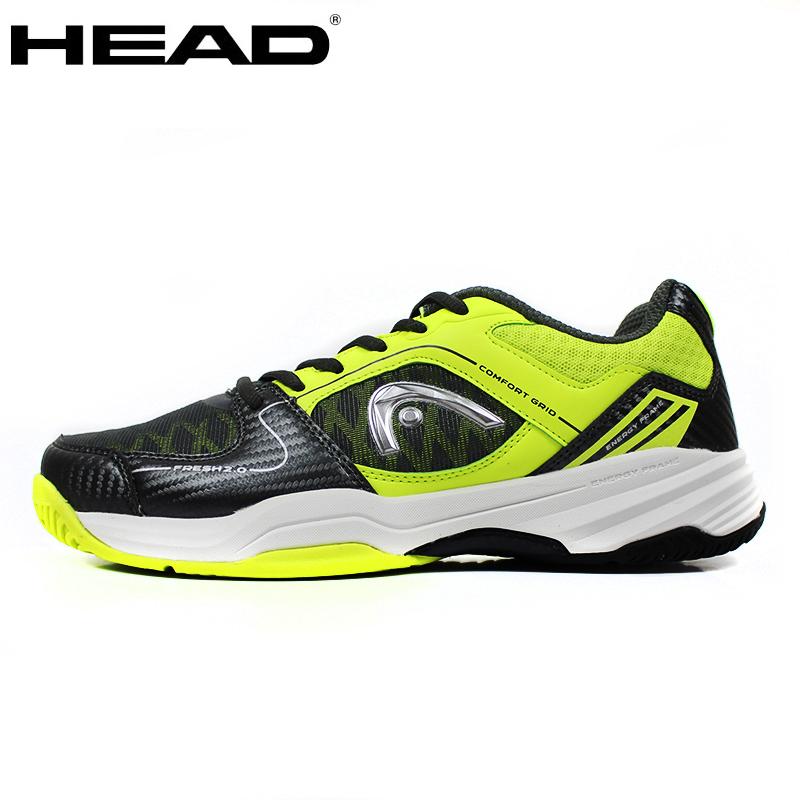 海德HEAD 男子网球鞋夏秋季透气网面耐磨减震运动鞋子