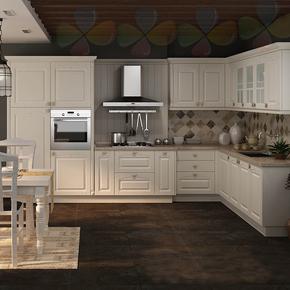 重庆定做家具定做美式厨柜定做欧式橱柜韩式定制地中海风格橱柜
