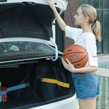 Car trunk storage device baggage items rack car magic patch miscellaneous fixed strap net pocket steam