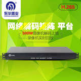 Network video decoder matrix H265 digital hybrid HD switching monitoring screen split stitching host