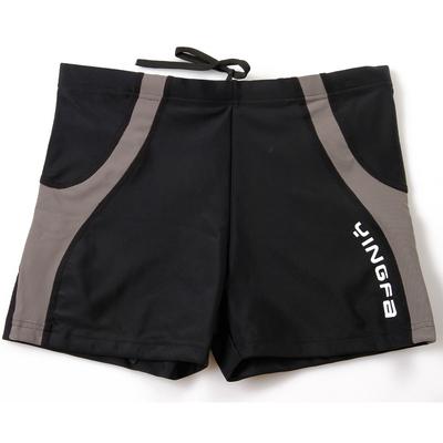 包邮英发平角游泳裤 运动男士泳衣 加肥加大温泉男士泳裤