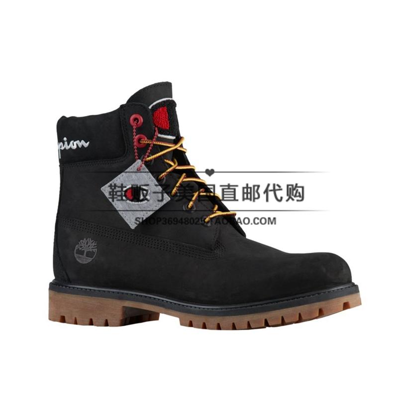 【鞋贩子】Timberland X Champion 联名款 正品代购 男款6寸短靴