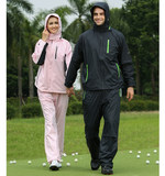 G, T, GOLF golf raincoat men waterproof golf raincoat women waterproof rainproof anti-rain suit wind-proof breathable