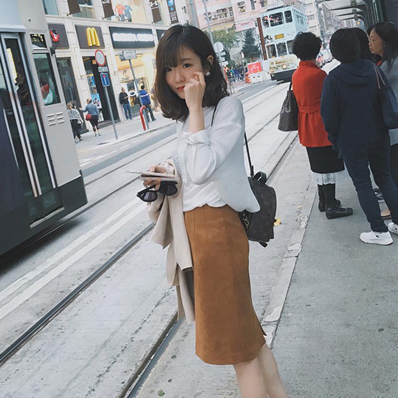 香港代购秋冬季新款女装韩版气质chic风小香风两件套套装裙时尚潮