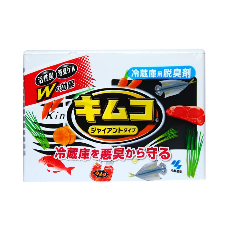 日本原装小林制药活性炭大型冰箱冷藏室用除味剂啫喱8倍除臭