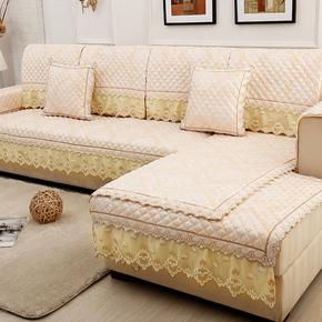 上新沙发垫组合套装四季通用欧式风沙发坐垫欧式客厅防滑布艺沙发