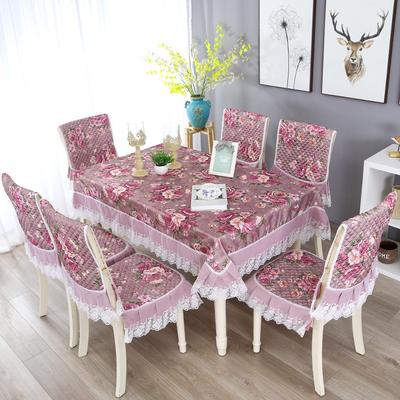 餐桌布椅套椅垫套装家用简约现代餐椅垫椅子套罩布艺座椅登子套品牌巨惠