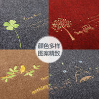 Entrance door mat door mat foot entrance hall vacuum carpet kitchen non-slip mat bedroom door mat home customization