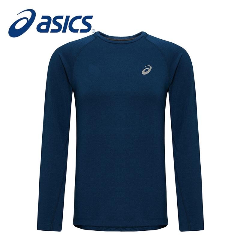 ASICS亚瑟士 男士运动长袖T恤 135355