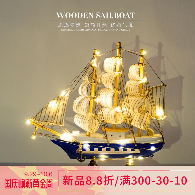 海盗船装饰