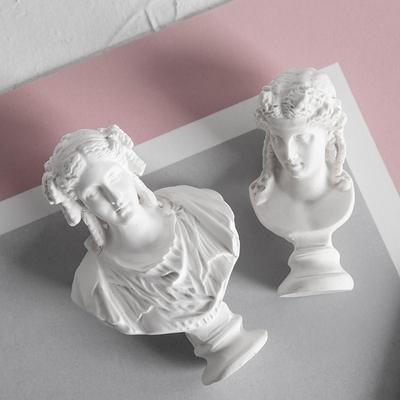 白色雕像迷你摆件神话人物小卫马尔斯琴女维纳斯雕塑饰品艺术摆设