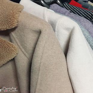 性价比高 100%纯羊毛双面呢羊绒大衣反季孤品 直播间专享