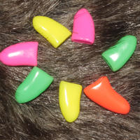 Pet nail cover dog nail cover cat nail cover 20 price anti-scratch to send glue