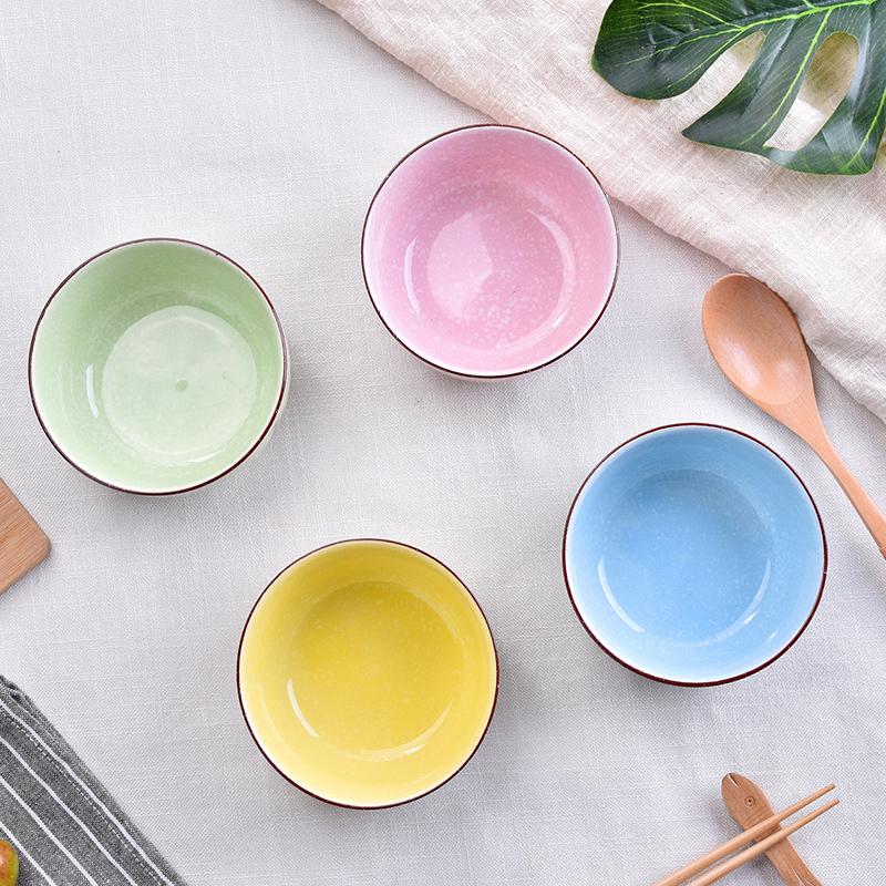 比得兔可爱卡通陶瓷碗餐具套装日式小米饭碗家用汤碗面碗儿童碗