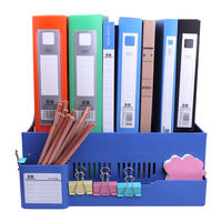 Folder storage box office supplies file holder file frame information frame student bookshelf simple table book archive file file column stationery basket