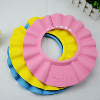 Baby shampoo cap baby child waterproof ear protection shower cap adjustable shampoo cap to increase bathing cap children