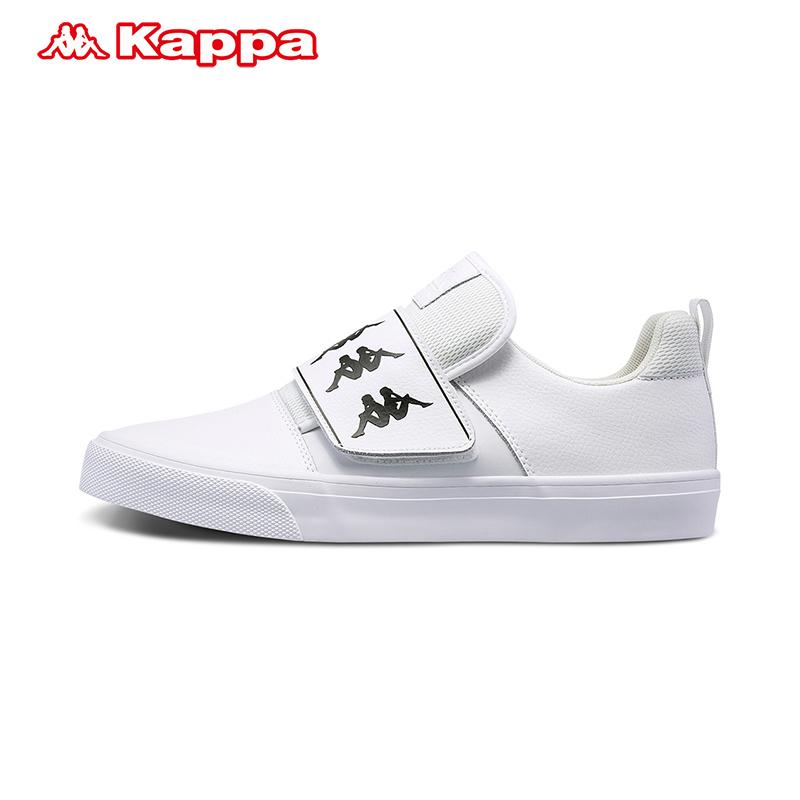 背靠背KAPPA卡帕情侣男女休闲板鞋运动鞋小白鞋K0855CC52
