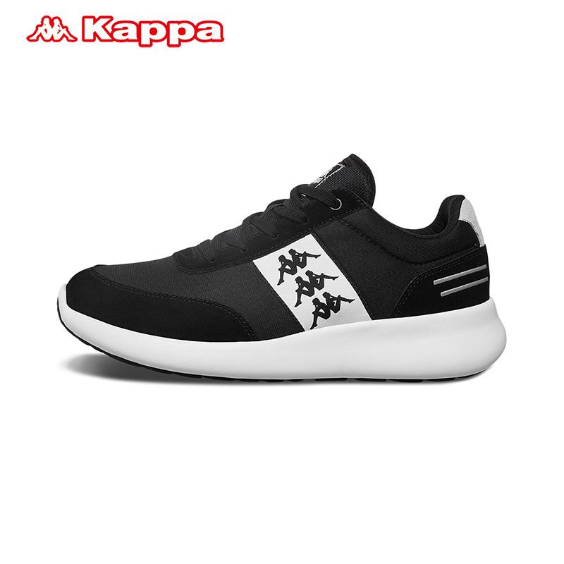 卡帕Kappa背靠背男女鞋情侣复古跑鞋运动休闲鞋-K0955MM36