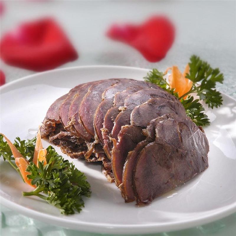 本来生活 老杜五香牛肉200g 卤肉 卤牛肉 酱牛肉 熟食
