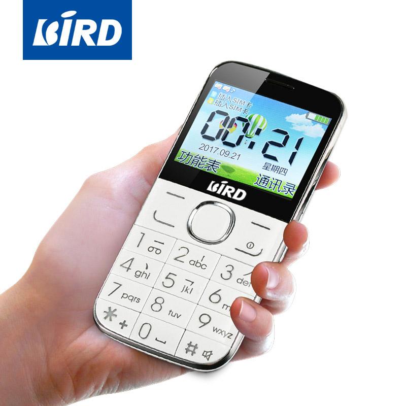 BIRD/波导 A520老人机超长待机直板电信版大屏老年手机正品大字大声功能男女款学生按键诺基亚联通移动全网通