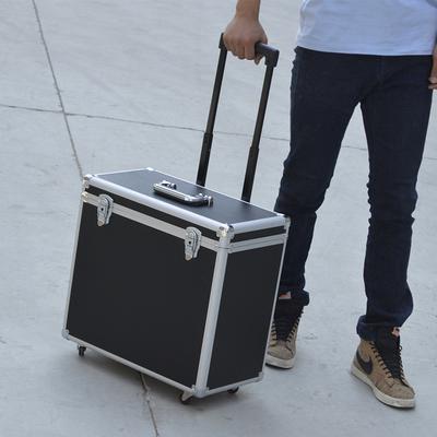 铝合金工具箱拉杆箱运输箱拉杆收纳箱仪器箱五金维修工具箱拖箱