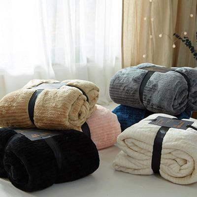 无印珊瑚绒床笠单件床单床罩日式良品加厚保暖法兰绒保护套床垫套