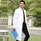 618 activities new high-end anti-static white coat short-sleeved male doctor clothing medical institutions beauty show