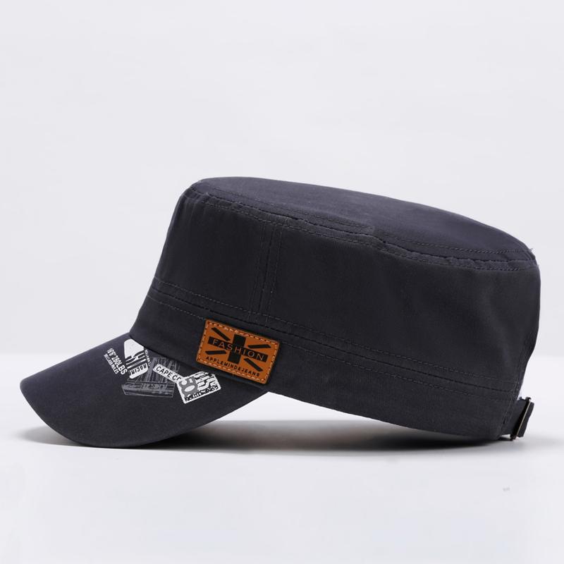 平顶帽子男四季款帽子男士棒球帽韩版潮遮阳帽太阳帽户外鸭舌帽子